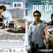 Due Date (2010) R1 SLIM DVD COVER