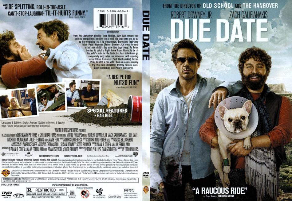 Due Date 2010 R1 Slim Dvd Cover Dvdcover Com