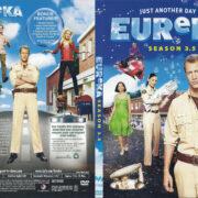 Eureka - Season 3.5 (2010) R1 SLIM DVD COVER