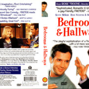 BEDROOMS AND HALLWAYS (1999) R1 DVD COVER & LABEL