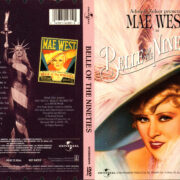 BELLE OF THE NINETIES (1934) R1 DVD COVER & LABEL