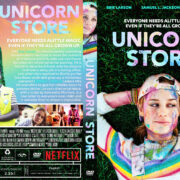 Unicorn Store (2019) R1 CUSTOM DVD COVER