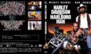 Harley Davidson und der Marlboro Mann (1991) R2 German Custom Blu-Ray Covers & Label