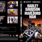 Harley Davidson und der Marlboro Mann (1991) R2 German Custom Blu-Ray Covers & Label