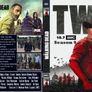 Walking Dead: Season 9 (2018) R0 Custom DVD Cover