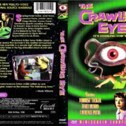 THE CRAWLING EYE WIDESCREEN EUROPEAN EDITION (2001) R1 DVD COVER & LABEL