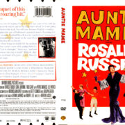 AUNTIE MAME (1958) R1 DVD COVER & LABEL
