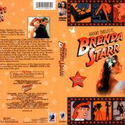 BRENDA STARR (1989) R1 DVD COVER & LABEL