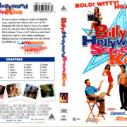 BILLY'S HOLLYWOOD SCREEN KISS (1998) R1 DVD COVER & LABEL