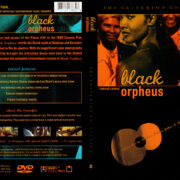 BLACK ORPHEUS (1959) R1 DVD COVER & LABEL