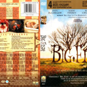 BIG FISH (2003) R1 DVD COVER & LABEL