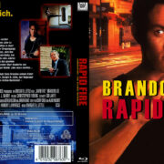 Rapid Fire (1992) R2 German Custom Blu-ray covers & labels