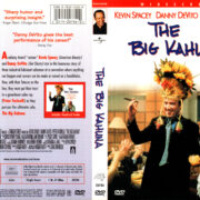 THE BIG KAHUNA (1999) R1 DVD COVER & LABEL