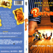 THE BORROWERS (1997) R1 DVD COVER & LABEL