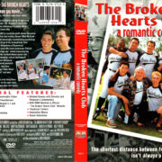 THE BROKEN HEARTS CLUB (2000) R1 DVD COVER & LABEL
