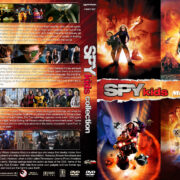 Spy Kids Collection R1 Custom DVD Cover & Labels