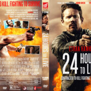 24 Hours to Live (2017) R1 Custom DVD Cover