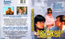 BROADWAY DAMAGE (1997) R1 DVD COVER & LABEL