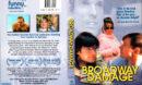 BROADWAY DAMAGE (1997) R1 DVD COVER & LABEL