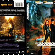 THE AVENGERS (1998) R1 DVD COVER & LABEL