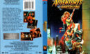 ADVENTURES IN BABYSITTING (1987) R1 DVD COVER & LABEL