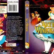 ALICE IN WONDERLAND GOLD COLLECTION (1951) R1 DVD COVER & LABEL