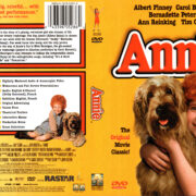 ANNIE (1981) R1 DVD COVER & LABEL