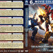 Transformers Collection (6) R1 Custom DVD Cover