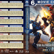 Transformers Collection (6) R1 Custom Blu-Ray Cover