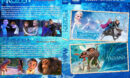 Frozen / Moana Double Feature R1 Custom DVD Cover & Labels