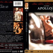 APOLLO 13 (1995) R1 DVD COVER & LABEL