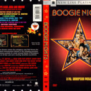 BOOGIE NIGHTS (1997) R1 DVD COVER & LABEL