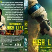 High Life (2018) R1 Custom DVD Cover