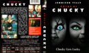 BRIDE OF CHUCKY (1998) R1 DVD COVER & LABEL