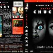 BRIDE OF CHUCKY (1998) R1 DVD COVER & LABEL