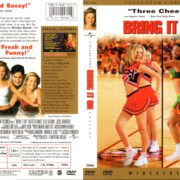 BRING IT ON COLLECTOR'S EDITION (2000) R1 DVD COVER & LABEL