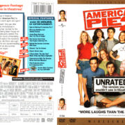 AMERICAN PIE 2 UNRATED (2001) R1 DVD COVER & LABEL