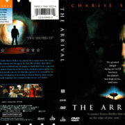 THE ARRIVAL (1996) R1 DVD COVER & LABEL