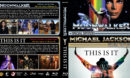 Michael Jackson's Moonwalker / This is It Double Feature R1 Custom Blu-Ray Cover
