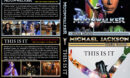 Michael Jackson's Moonwalker / This is It Double Feature R1 Custom DVD Cover