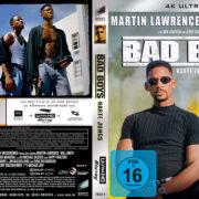 Bad Boys - Harte Jungs (1995) R2 German Custom 4K Covers & label
