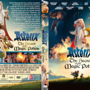 Asterix: The Secret of the Magic Potion (2019) R1 Custom DVD Cover