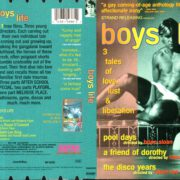 BOYS LIFE (1995) R1 DVD COVER & LABEL