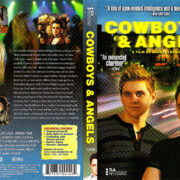 COWBOYS AND ANGELS (2003) R1 DVD COVER & LABEL