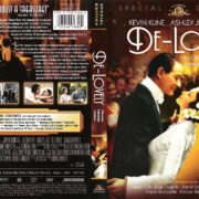 DE-LOVELY SPECIAL EDITION (2004) R1 DVD COVER & LABEL