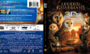Legend Of The Guardians: The Owls Of Ga'Hoole 3D (2010) R1 Blu-Ray Cover