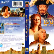THE ADVENTURES OF BARON MUNCHAUSEN (1988) R1 DVD COVER & LABEL