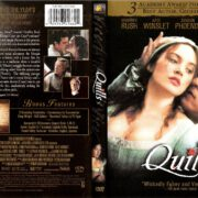 QUILLS (2000) R1 DVD COVER & LABEL