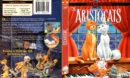 THE ARISTOCATS (1970) R1 DVD COVER & LABEL