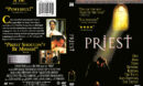 PRIEST (1994) R1 DVD COVER & LABEL